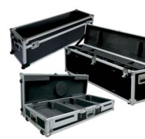 flight case metal pour borne video