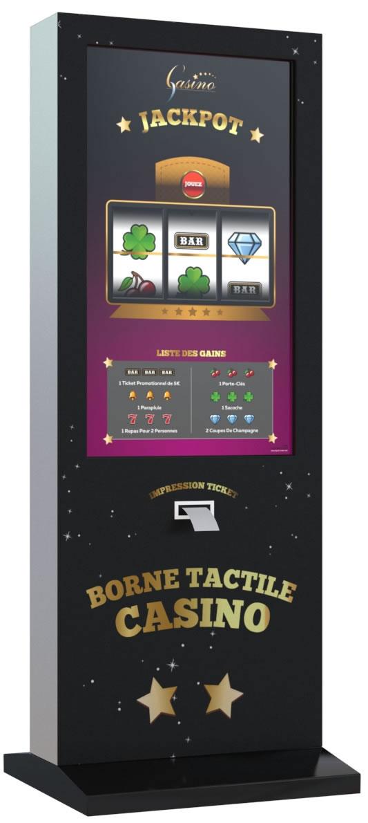 Totem tactile 42 pouces vertical avec appli jeu for Borne tactile exterieur